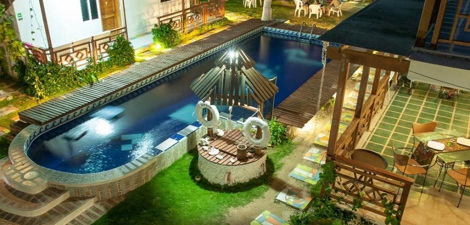 Piscina Fuente hotelsanluisvillage com